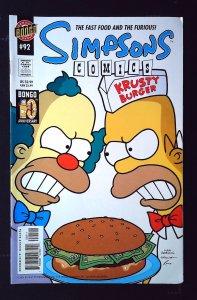 Simpsons Comics #92 (2004)