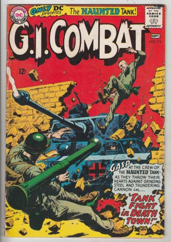 G.I. Combat #113 (Sep-65) FN Mid-Grade The Haunted Tank