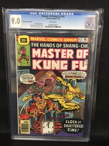 Master of Kung-Fu #42 (Marvel, 1977) CGC 9.0 - 30 Cent Price Variant