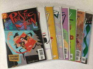 Plastic Man 1-8 1 2 3 4 5 6 7 8 Lot Set Run Nm Near Mint Dc Comics