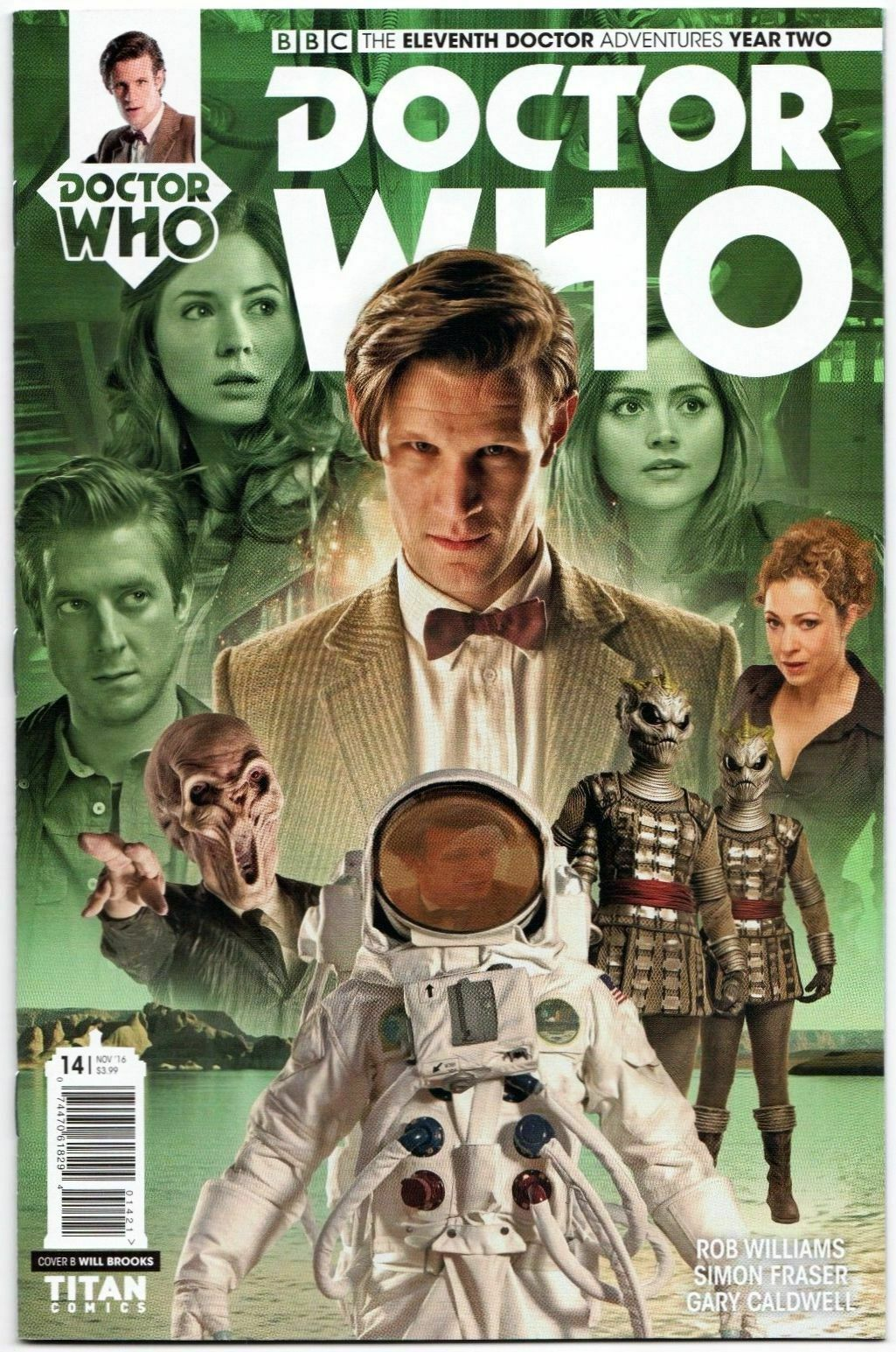 2014 DOCTOR WHO The Eleventh Doctor #1 New Bagged