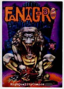 FANTAGOR #3, Richard Corben, Den, 1st, FN , Heavy Metal, Underground