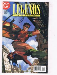 Legends #6 VF/NM DC Comics Comic Book Robin Superman JLA Batman Jul 1998 DE46