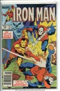 IRON MAN (1968 MARVEL) #188 VF- A54437