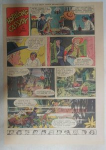 Hopalong Cassidy Sunday Page by Dan Spiegle from 12/27/1953 Size: 11 x 15 inches