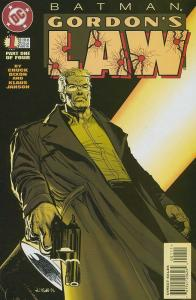 BATMAN GORDONS LAW (1996) 1-4  complete story!
