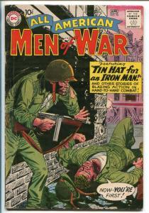 ALL-AMERICAN MEN OF WAR #78-1960-DC-SILVER AGE-RUSS HEATH-KOREAN WAR-P.O.W.-vg