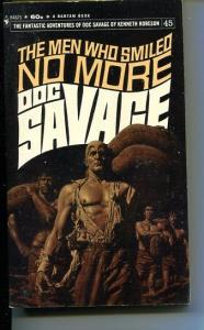 DOC SAVAGE-THE MEN WHO SMILED NO MORE-#45-ROBESON-VG- BAMA COVER-1ST EDITION VG