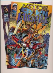 Image Comics ~ Medieval Spawn Witchblade #2,3  VF/NM (HX823)