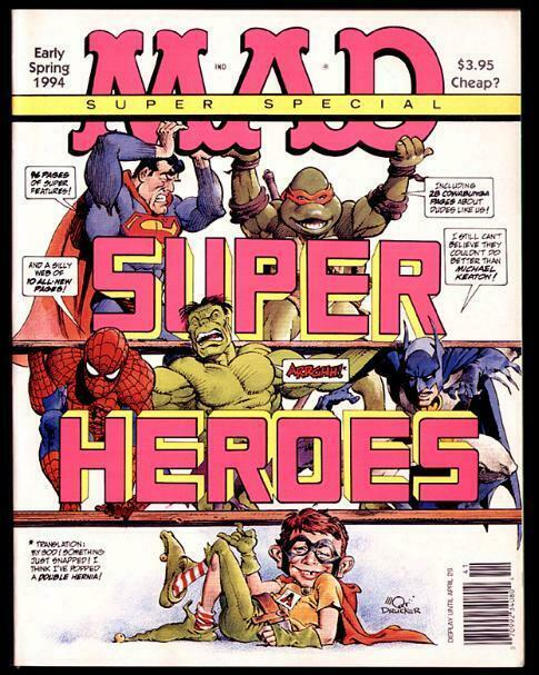 MAD SPECIAL 96 (SPRING 1994) SUPERHEROES! FINE
