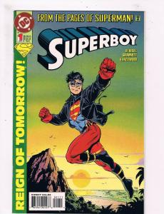 Superboy # 1 VF/NM DC Comic Books Justice League Superman Supergirl Batman! SW11