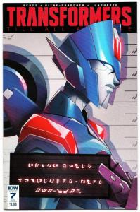 Transformers Till All Are One #7 Sub Cvr (IDW, 2017) VF/NM