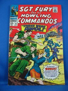 SGT NICK FURY 42 VF NM 1967