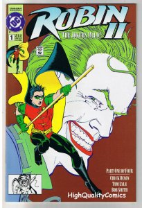 ROBIN #1, NM+, Joker's Wild, Chuck Dixon, 1991, more DC and Batman in store, RCV