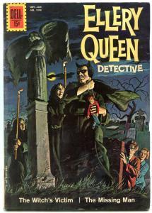 Ellery Queen Detective- Four Color Comics #1243 1962 VG/F