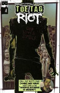Toe Tag Riot #4 VF/NM; Black Mask Comics | save on shipping - details inside
