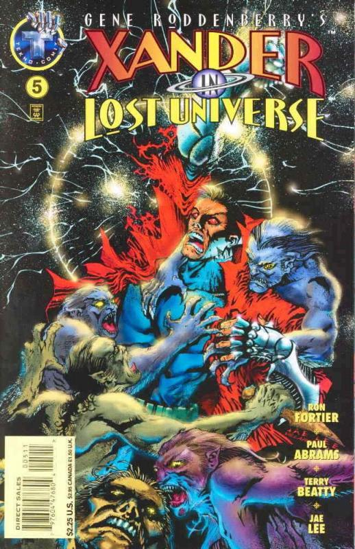 Xander in Lost Universe (Gene Roddenberry's…) #5 FN; Tekno | save on shipping -