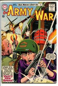 OUR ARMY AT WAR #142-SGT. ROCK-COOL ISSUE VG-