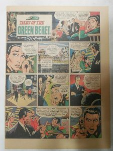 Tales Of The Green Berets by Joe Kubert from 5/14/1967 Size: 11 x 15 inches