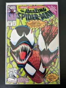 THE AMAZING SPIDER-MAN #363 3rd App Carnage High Grade ASM Venom Cover. VF+