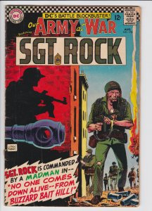 Our Army at War #170 (Aug 1966) 2.5 GD+ DC