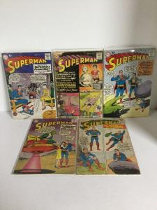 Superman 131 132 135 136 137 138 139 140 Gd-Vg Good-Very Good 2.0-4.0