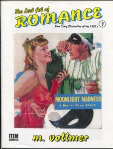 Lost Art of Romance #1 1999-1st issue-reprints romance pulps art-limited print