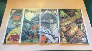 The Colonized 1-4 Complete Near Mint Lot Set Run 2-4 Sub Covers