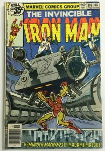 INVINCIBLE IRON MAN#116 FN 1978 MARVEL BRONZE AGE COMICS
