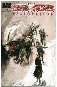 DEADWORLD RESTORATION #1 2, NM, Zombies, Horror, 2013, 2 issues, 1-2, IDW, A