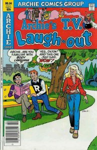 Archie's TV Laugh-Out #84 VG; Archie | low grade comic - save on shipping - deta