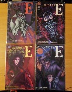 Mister E 1-4 Complete Set Run! ~ NEAR MINT NM ~ 1991 DC Comics