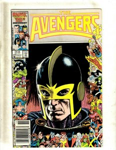 12 The Avengers Comics #273 274 275 276 277 278 279 280 281 282 283 284 GB2
