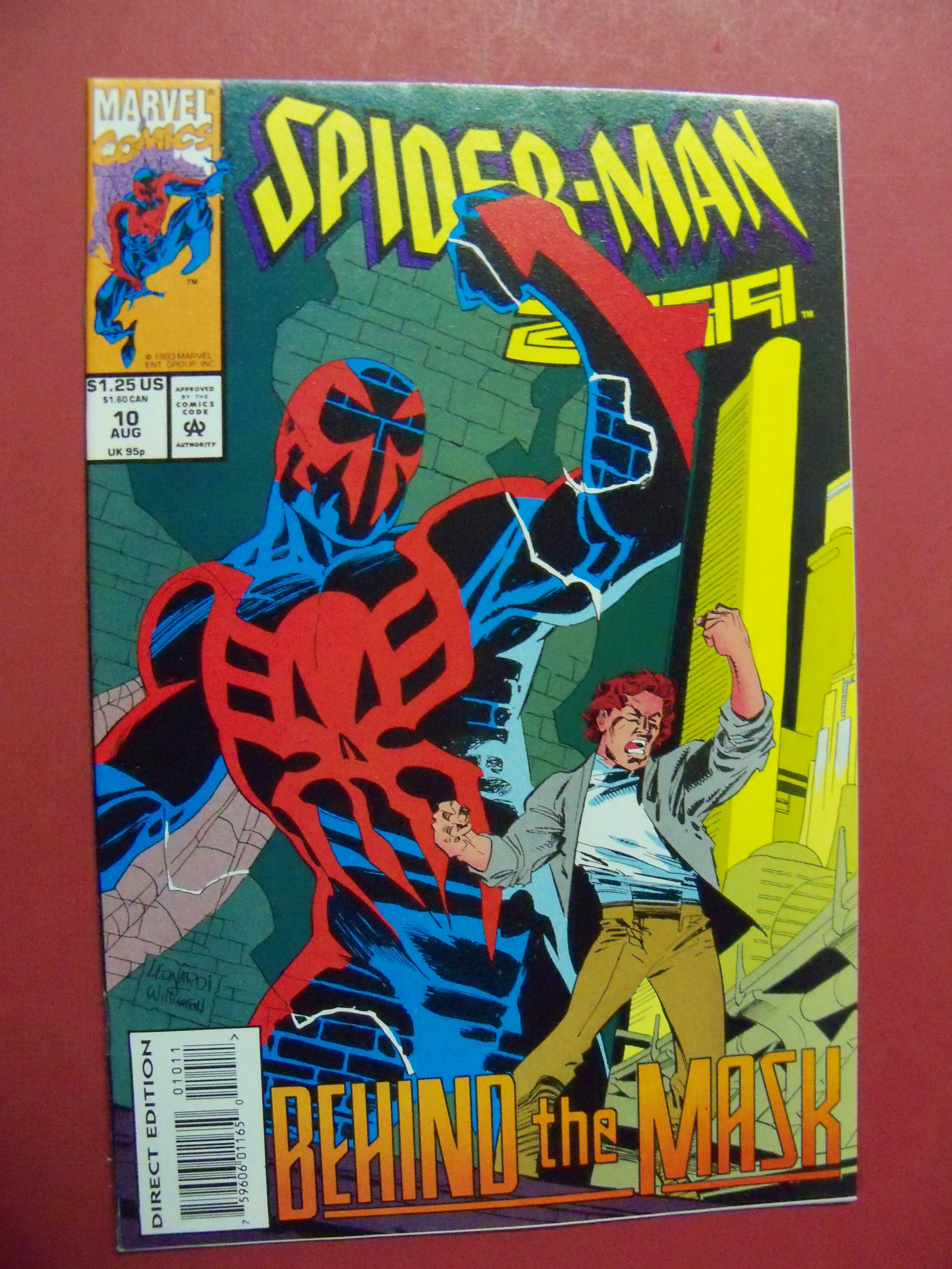 Comic Book NM 2016 MARVEL Comics SPIDER-MAN 2099 #3