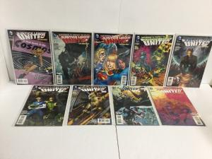 Justice League United 2-10 C Cover Variants Lot Nm Near Mint New 52   IK