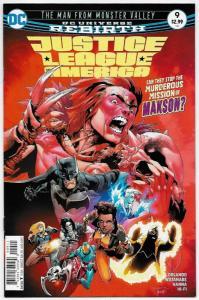 Justice League of America #9 Rebirth Main Cvr (DC, 2017) NM