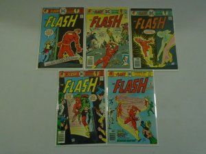 Flash lot 10 different 30c covers from #240-249 6.0 FN (1976-77 1st Series)