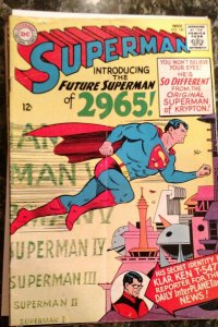 Superman #181 (DC, 1965) Condition: FN
