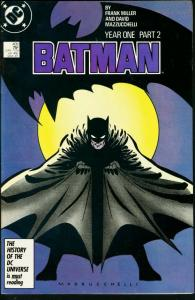 BATMAN #405-1987-DC VF