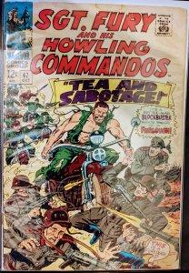 Sgt. Fury #47 (1967) Fine