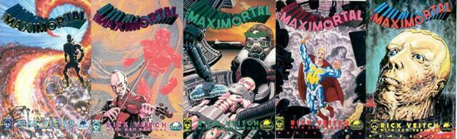MAXIMORTAL (1992 KING HELL/TUNDRA) 2-6  RICK VIETCH's COMICS BOOK