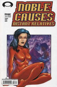 Noble Causes: Distant Relatives #3 VF/NM; Image   save on shipping - details ins