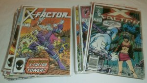 X-Factor V1 #2-49 (missing 12) Simonson Inferno Fall of Mutants comics lot of 41