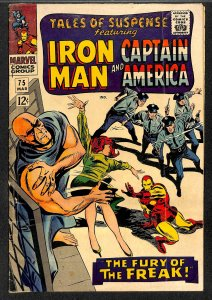 Tales Of Suspense #75 GD 2.0 1st Sharon Carter and Batroc! Iron Man