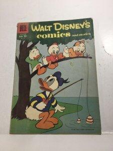 Walt Disney's Comics 228 Gd Good 2.0 Dell Comics