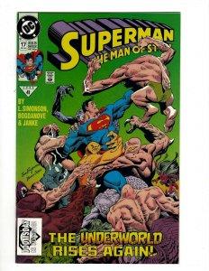 Superman Man Of Steel # 17 NM DC Comic Book Doomsday Batman Justice League OF2
