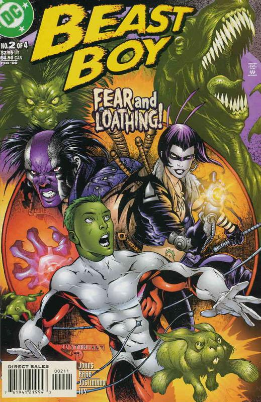 Beast Boy #2 VF/NM; DC | save on shipping - details inside
