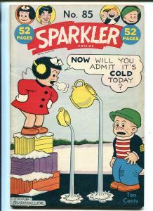 SPARKLER #85 1949-UNITED FEATURES-NANCY-BUSHMILLER-TARZAN-VAMPIRE'S WEB-fn/vf