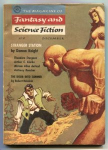 Magazine of Fantasy and Science Fiction 12/56- Stranger Station