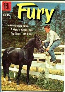 Fury-Four Color Comics #1031 1959-Dell-Bobby Diamond TV photo color-VF